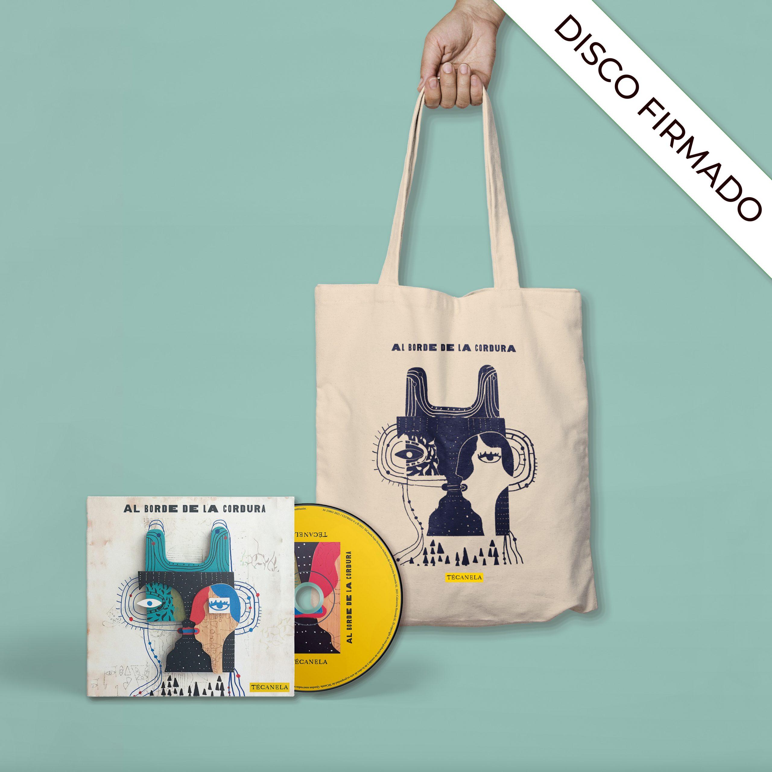 PREVENTA | CD Al Borde De La Cordura + Tote Bag